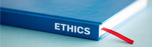 Ethics stock photo
